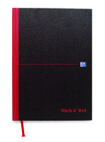 BLK N RED MANUBK 384P A4 FT 100080473