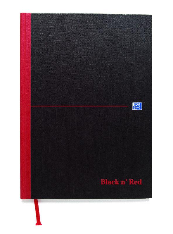 BLK N RED MANUBK 384P A4 FT 100080473
