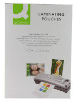 Q-Connect Laminating Pouch A4 100micron Pk 100