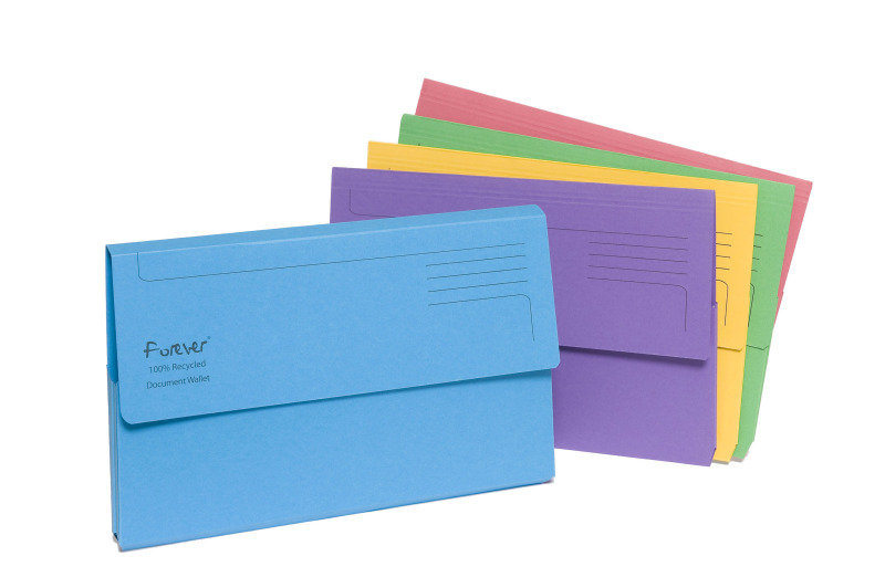 Guildhall Bright Manilla Wallet Assorted 25 Pack