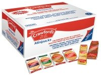 Crawfords Assorted Mini Biscuit Packs - 100 Pack