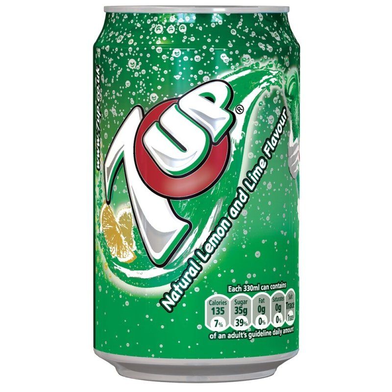 Image of 7-up Original 330ml Cans - 24 Pack