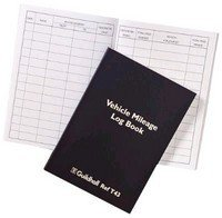 Guildhall Vehicle Mileage Log Book