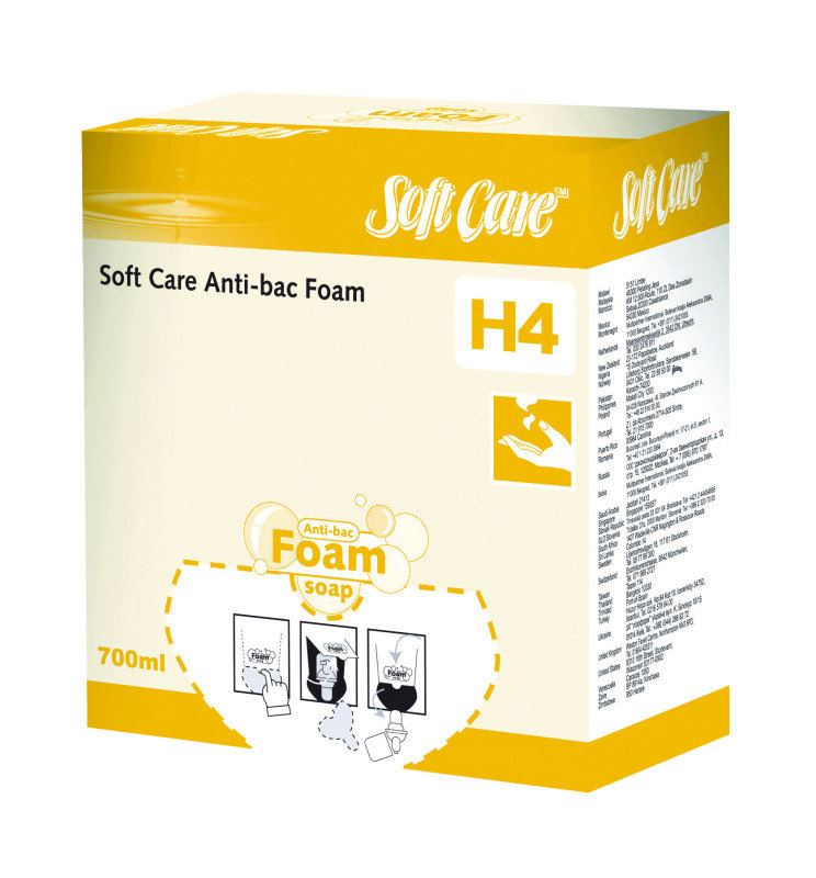 Diversey Soft Care H4 Antibacterial Foam Soap 700ml (Pack of 6)