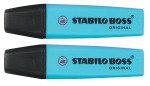 Stabilo Boss Pen Blue 70/31/10 - 10 Pack