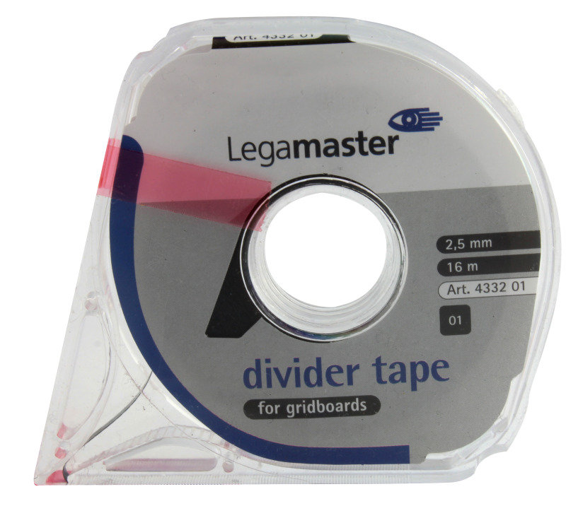 Image of Legamaster Self Adesive Narrow Tape - Black