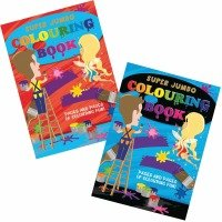 Tallon Super Jumbo Colouring Book 4049 - 6 Pack