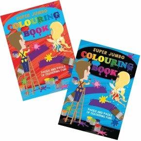 Tallon Super Jumbo Colouring Book 4049 - 6 Pack