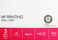 Hp Printing Paper A4 80gsm White Pk500 - 5 Pack