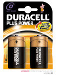 Duracell Plus D Battery - 2 Pack
