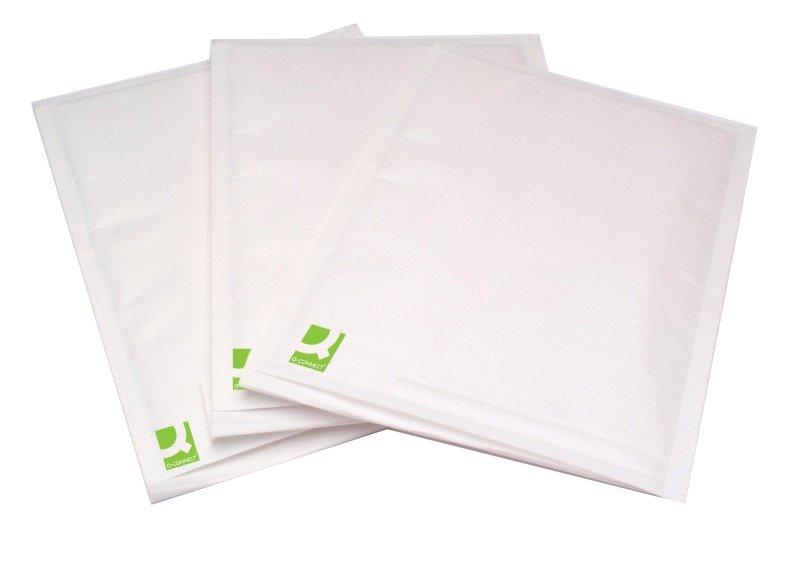 Q-Connect Bubble Lined Envelope Size 5 White Pk 100