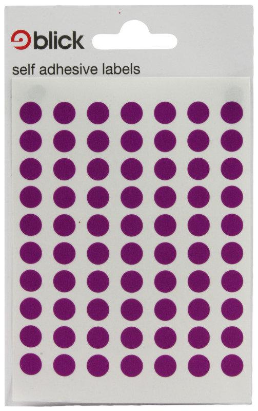 Blick Label Bag 8mm Purp Pk490 003052 - 20 Pack