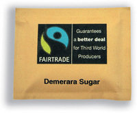 Fairtrade Brown Sugar Sachets Pk 1000