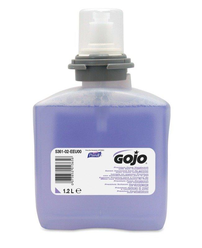 Image of GOJO PREMIUM FOAM SOAP 2X1.2L