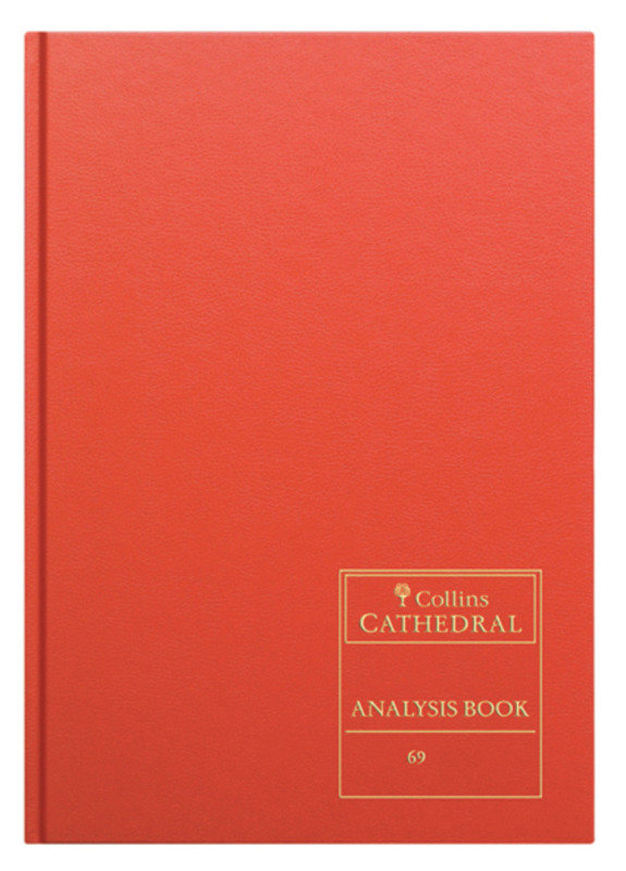Image of CATHEDRAL ANALYSIS BK 96P RED 69/12.1