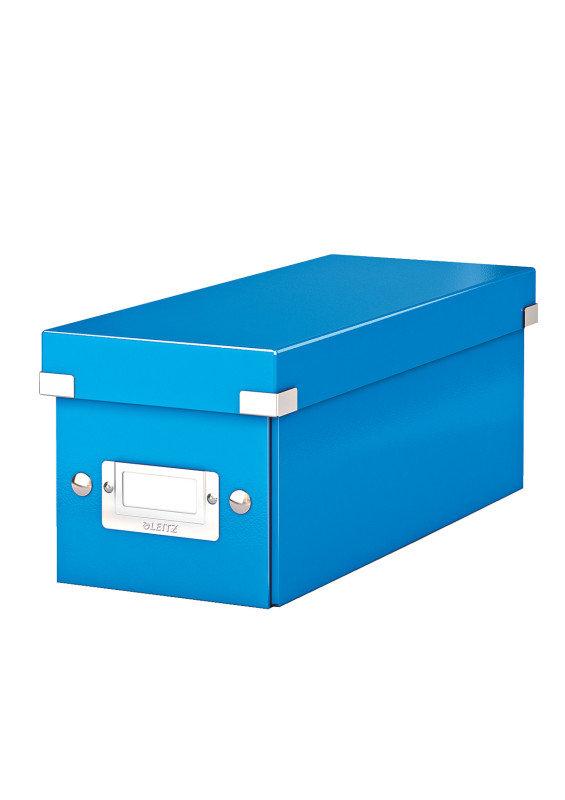 Leitz WOW Click & Store Media Storage Box - Blue