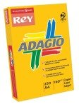 ADAGIO CARD A4 160GM ORANGE PK250