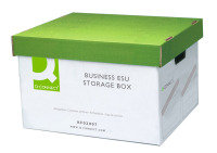 Q Connect Business Easy Set Up Stor Box - 10 Pack