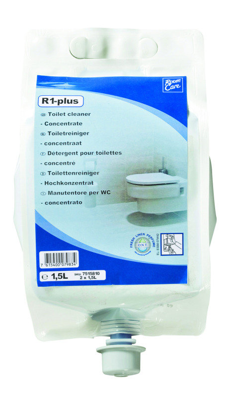 Diversey Room Care R1Plus Toilet Cleaner 1.5 Litre (Pack of 2)