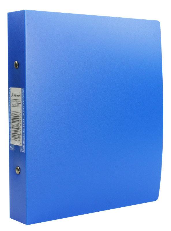 Rexel A5 2 Ring Binder Blue 13428bu - 10 Pack