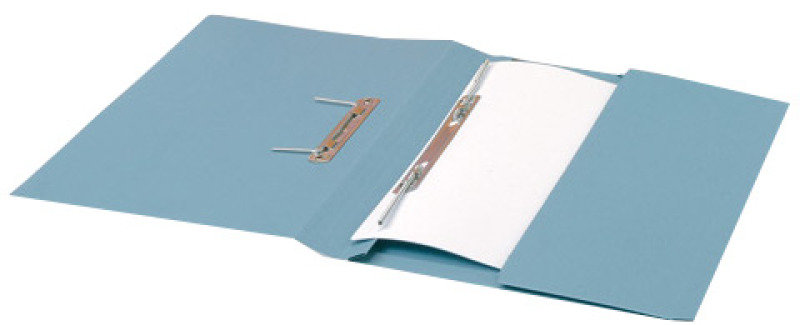 *Guildhall Transfer Spring Pocket File Blue - 25 Pack
