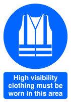SIGNSLAB A4 HI VIS CLOTHING M/B/WORN PVC