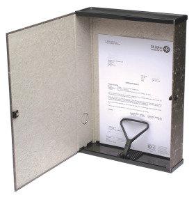 Q Connect Boxfile Black - 5 Pack