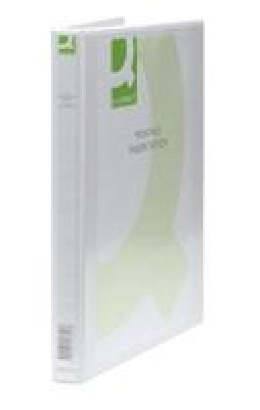 Q Connect Pres Binder 4dring 16mm White - 6 Pack