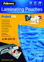 FELLOWES A3 350MIC PROTECT LAM POUCHES