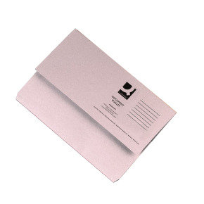Q Connect Document Wallet Fc Buff - 50 Pack