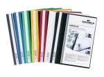 Durable DURAPLUS Quotation Folder A4 Assorted 25 Pack