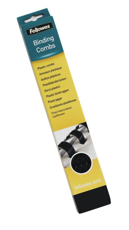 Fellowes Plastic Comb 32mm Black A4 50 Pack