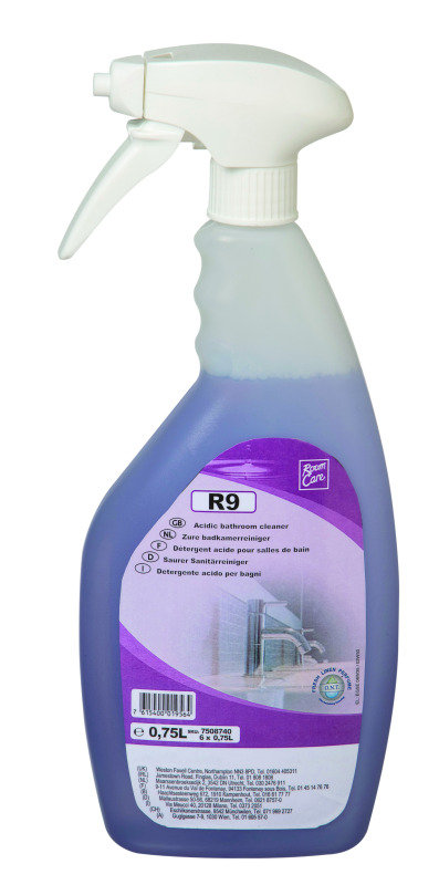 Diversey Room Care R9 Bathroom Cleaner 750ml (Pack of 6)