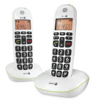 Doro Big Button Digital Cordless Telephone - Twin Pack