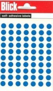 Blick Label Bag 8mm Blue Pk490 002055 - 20 Pack