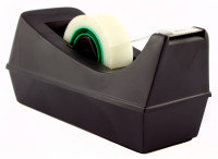 Q CONNECT TAPE DISPENSER 33M BLACK