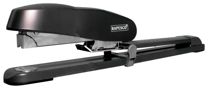 RAPESCO LONG ARM STAPLER R790 CHARCOAL