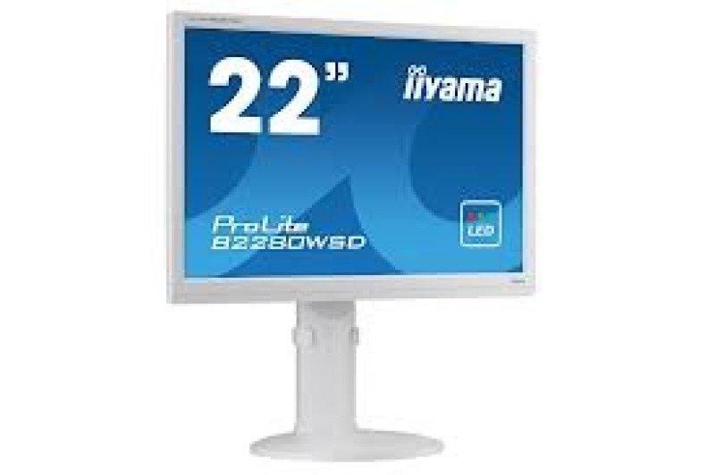 Iiyama B2280WSDW1 22&quot LED LCD DVI Monitor