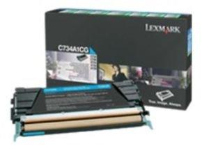 Lexmark C736H1CG High Capacity Cyan Toner cartridge