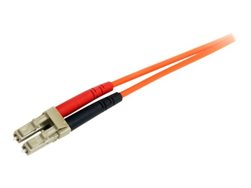 3m Multimode 62.5/125 Duplex Fiber Patch Cable LC-ST