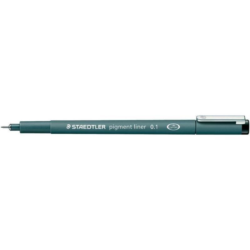 Staedtler Staedlter Pigment Fineliner - 0.1mm