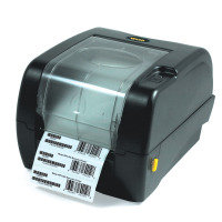 Wasp WPL305 - Label printer - B/W - thermal transfer - Roll (11.8 cm) - 203 dpi - up to 127 mm/sec - capacity: 1 rolls - parallel, serial, USB