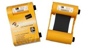 Zebra TrueColours ix Series Monochrome - Print ribbon - 1 x black - 1000 images