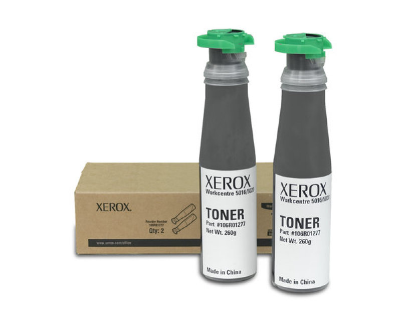 Xerox 2 x black Toner refill