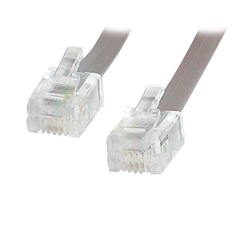 StarTech.com 25 ft RJ11 Telephone Modem Cable 7.6 m
