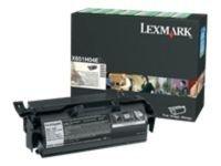 Lexmark Toner cartridge - Black - 25000 pg High Yield