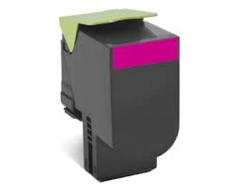 Lexmark 802HM Magenta High Capacity Toner Cartridge
