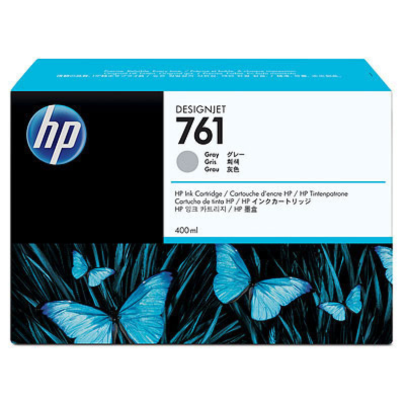 HP No 761 Grey Ink Cartridge - CM995A