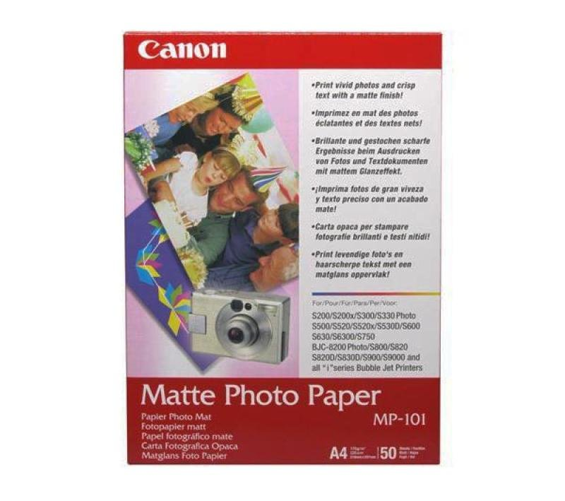 Canon MP-101A3 A3 Photo Paper Matte (Pack of 40)