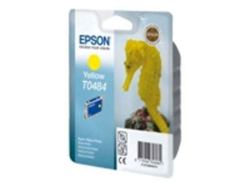 *Epson T0484 13ml Yellow Ink Cartridge 430 Pages